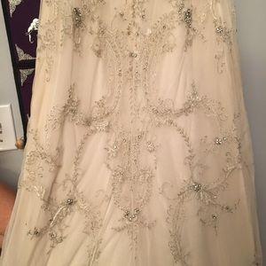 Lazaro Dresses - Vintage style Lazaro Wedding Gown